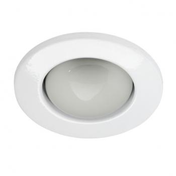 einbauspot deckeneinbauspot weiss e27 einbaurahmen 63mm 230v r63 led spot lampe ebay. Black Bedroom Furniture Sets. Home Design Ideas