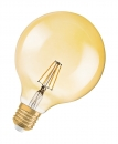 Filament 7W LED GLOBE Osram VINTAGE dimmbar 650Lm E27 2400K extra warm