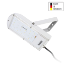 Flutstrahler ASTIR Bioledex weiss Made in Germany Osram LED 120° 5000K