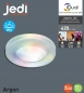 Preview: 1-Kit iDual LED Deckeneinbauleuchten Argon,  jedi lighting, weiss, B01MY8UIS9