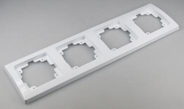 DELPHI Schalterprogramm weiß Dimmer /& Steckdosen mit Rahmen Unterputz Schalter