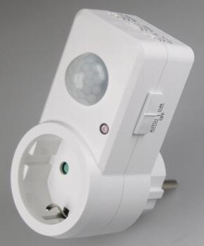 Bevorzugt LED-Fachhandel - Bewegungsmelder für Einbau und Unterputz, IP44 JH79