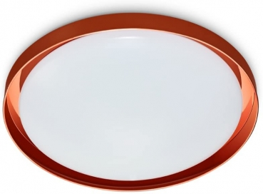 LED Deckenlampe CORSICA CEILING RED Copper 14W dimmbar 1050Lm 2700K