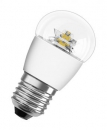 6W LED Lampe E27 OSRAM SUPERSTAR P40 advanced KLAR 2700K dimmbar = 40W